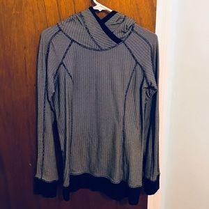 Lululemon Grey/Black Pullover Hoodie